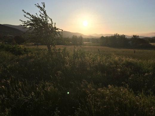 church_property_sunset